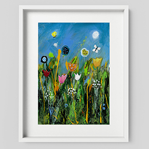 Dizzy Meadow landscape wall art print