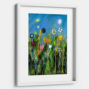 Dizzy Meadow printable wall art